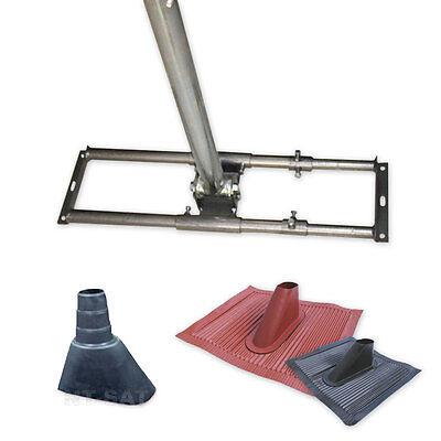 Dachsparrenhalter Mast Sat Halter Montage Dach Pfanne Sparren Halterung Aufdach