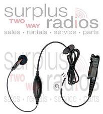 Motorola Headset OEM PMLN5733A XPR3300 XPR3500 Single Wire Earbud Headset PTT