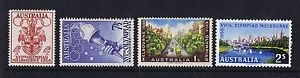 Australian-Pre-Decimal-Stamps-1956-Melbourne-Olympics-Set-4-MNH