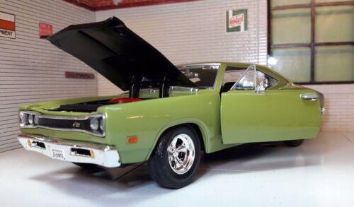 G LGB 1:24 Scale Blue Dodge Coronet Super Bee 1969 Motormax Diecast Model Car