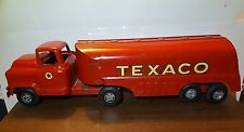 1960s Rare Vintage Texaco Buddy L Large Oil Tanker Truck Toy! Original