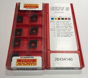 50pcs 2.5 5 Factory pack NEW 1-UM 4325 Inserts Sandvik CCMT09T304-UM  // CCMT3