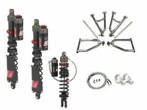 Details about LSR Lone Star DC-4 Long Travel A-Arms Elka Stage 5 Front Rear  Shocks Raptor 700