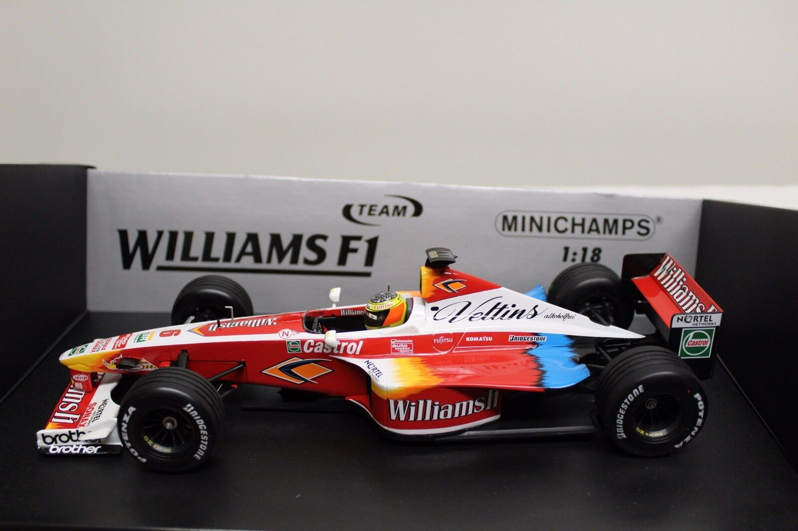 MINICHAMPS 1 18 Formule 1 Williams f1 1999 SUPERTEC fw21 Schumacher FW 21 Nouveau