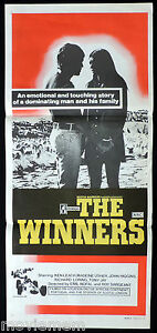 THE-WINNERS-Original-Daybill-Movie-Poster-Ken-Leach-Motor-Racing