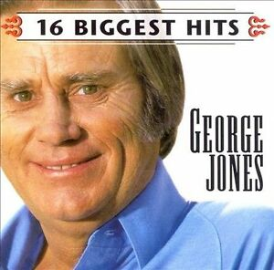 FREE US SHIP. on ANY 3+ CDs! ~Used,Good CD Jones, George: 16 Biggest Hits