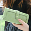 Long-Wallet-Faux-Suede-Woman-Lady-Purse-Female-Wallets-Card-Holder-Clutch thumbnail 10