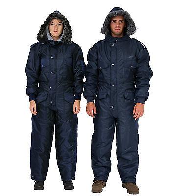 Womens Snow Suit One Piece >> Men Womens Idf Navy Blue Snowsuit Winter Clothing Ski Snow Suit One