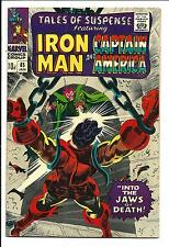 TALES OF SUSPENSE # 85 (CAPTAIN AMERICA & IRON MAN, JAN 1967), FN-
