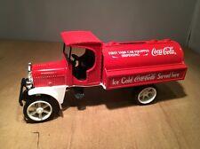COCA COLA DIE CAST KENWORTH TANK TRUCK DISPENSING COIN BANK BY ERTL #B398