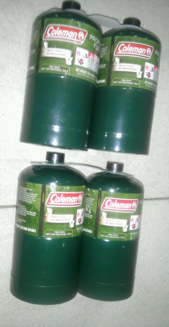 NEW Coleman Propane Cylinders Tanks,  16 oz, Set of 6 empty, Camping  online-shop