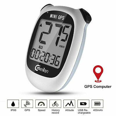 Bike Bicycle Computer GPS Wireless Speedometer Odometer USB Waterproof Durable