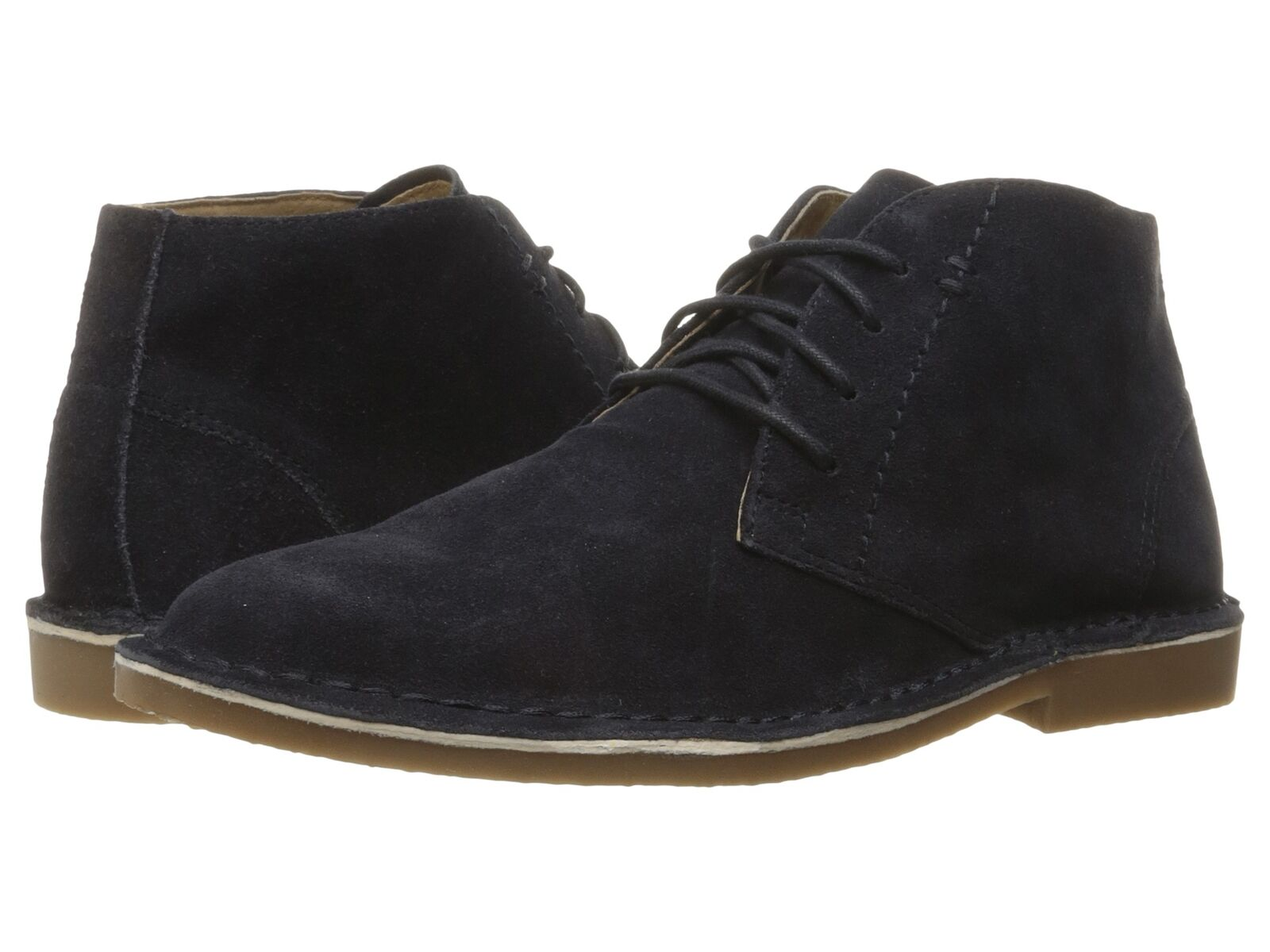 Nunn Bush Men's GALLOWAY chukka Navy Leather Boots 84679-410 84679-410 84679-410 ae3057