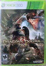 BRAND NEW SEALED XBOX 360 RPG GAME DRAGON'S DOGMA DRAGONS