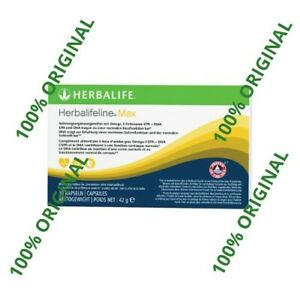 Herbalifeline Max 30 Kapseln Reich An Essenziellen Omega 3 Fettsäuren Epa Dha Ebay