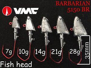 Fish-head-jig-heads-3-0-vmc-barbarian-hooks-3pcs-7g-28g-zander-pro-teez-lure-ul