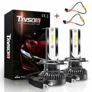 2x-H7-Cree-LED-Scheinwerferlampen-Kit-200W-30000LM-Car-Beam-Canbus-Kein-Fehler