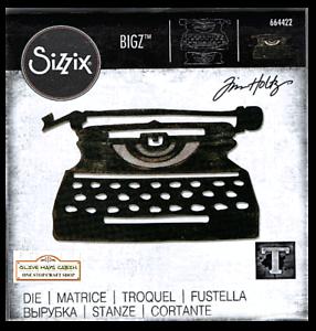 NEW Tim Holtz Retro Type BIGZ Die Sizzix 664422