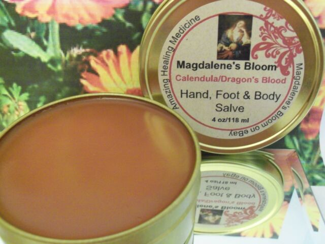 100 Natural Eczema Cream Salve Calendula W/dragon's Blood Tatoo Works Fast  4 Oz