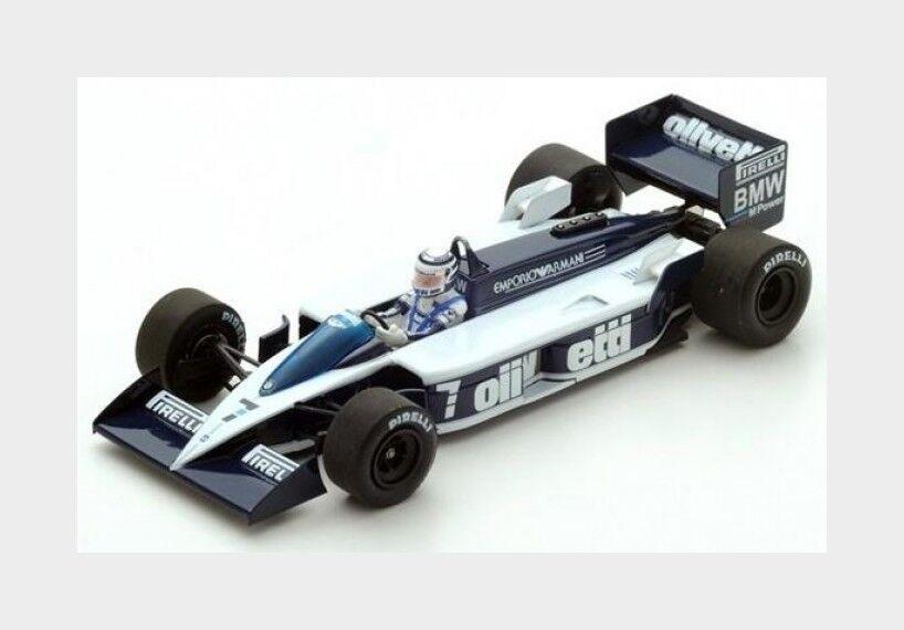 buon prezzo Brabham F1 Bt55 Bt55 Bt55  7 Monaco Gp 1986 Ricautodo Patrese SPARK 1 43 S4349  miglior reputazione