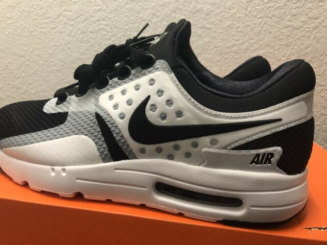 pick up d2213 2e212 Nike Air Max Zero Essential Black/White Tinker Hatfield 876070 101 Size 9