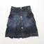 M-Royal-Womens-Size-XL-Denim-Blue-Skirt-Regular thumbnail 1