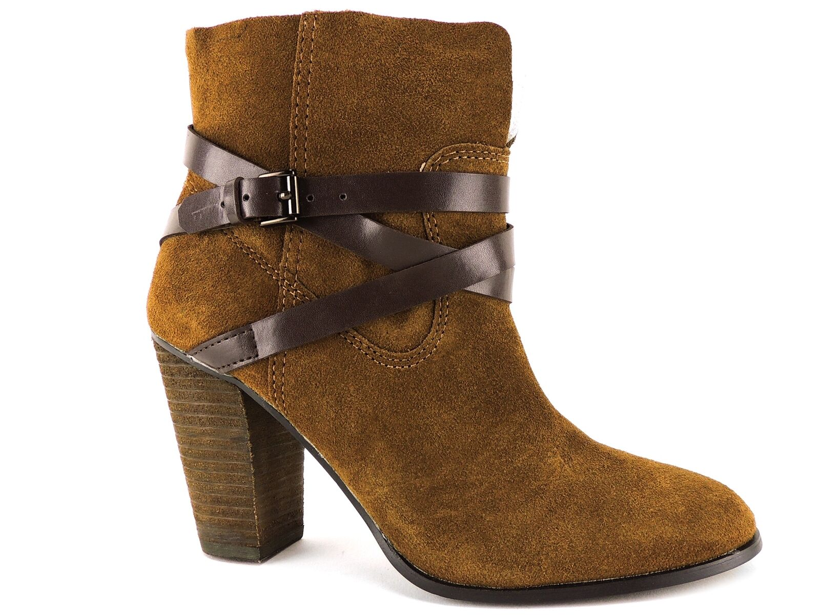 Carlos by Carlos Santana Women's Miles Ankle Booties Burbon Size 5.5 M