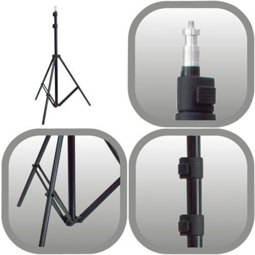 Camlink 2 Metros 3 sección Profesional Plegable soporte ligero para fotografía de lámparas de flash
