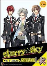Starry Sky (TV 1 - 26 End) DVD + CD + EXTRA DVD