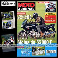 MOTO JOURNAL N°1138 350 TTR YAMAHA XJ 900 S DIVERSION BIMOTA SB7 KTM 400 LC4 '94