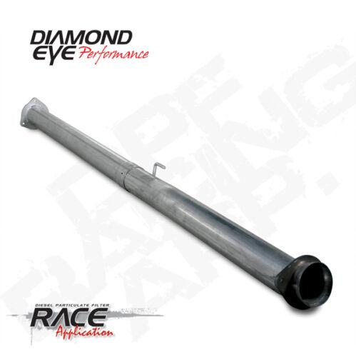 "2011-2016 Diamond Eye Ford 6.7l Diesel 4/"" DPF Delete Pipe 409 Stainless"