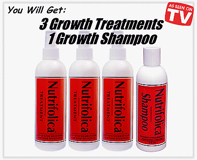 OUR BEST HAIR REGROWTH TREATMENT+SHAMPOO alopecia loss grow receding line faster