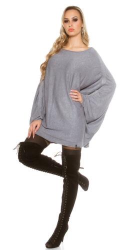 Maxi Maglia Maglione Donna Lungo Maxipull Pullover Extra Large Ampio Modal