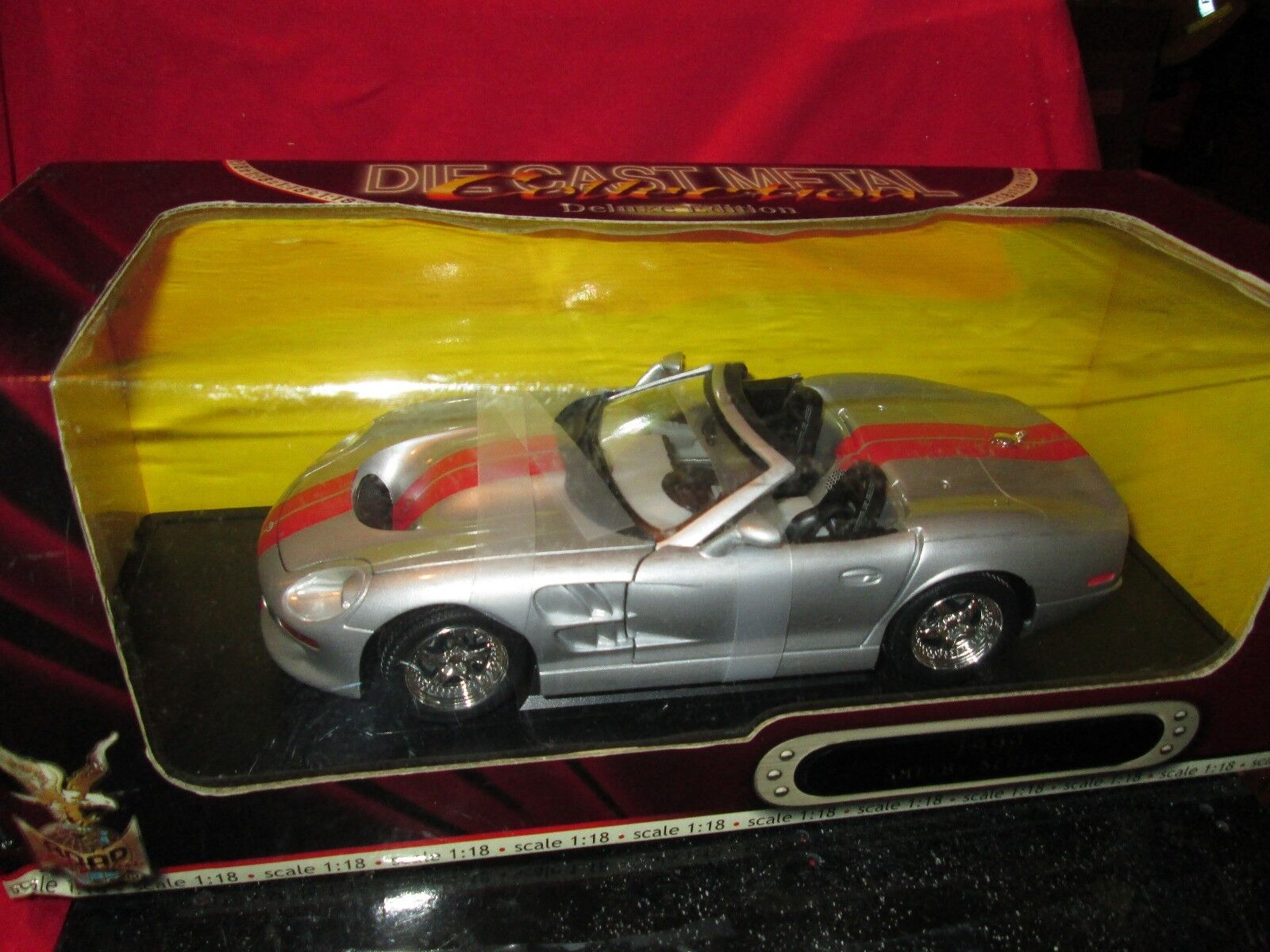 1999  Shelby series I 1 18 Scale Die-Cast Metal by Road Signature BOX IS ROUGH