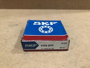 NEW SKF 6206-JEM OPEN BALL BEARING