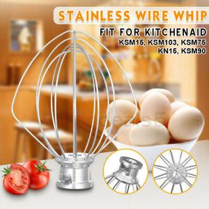 For Kitchenaid Ksm110 Ksm103 Kn15 9704329 6 Wire Whip