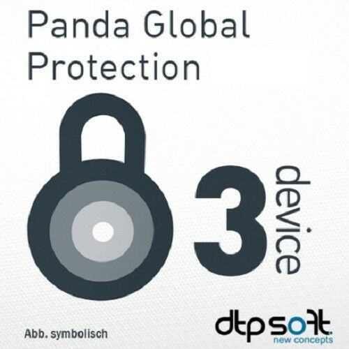 Panda Global Protection / Dome Complete 2019 3 Device 1 Year PC MAC 2018 UK