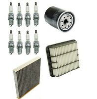Lexus Ls430 01-05 Tune Up Kit With Air Oil And Cabin Filters & Ngk Spark Plugs on sale