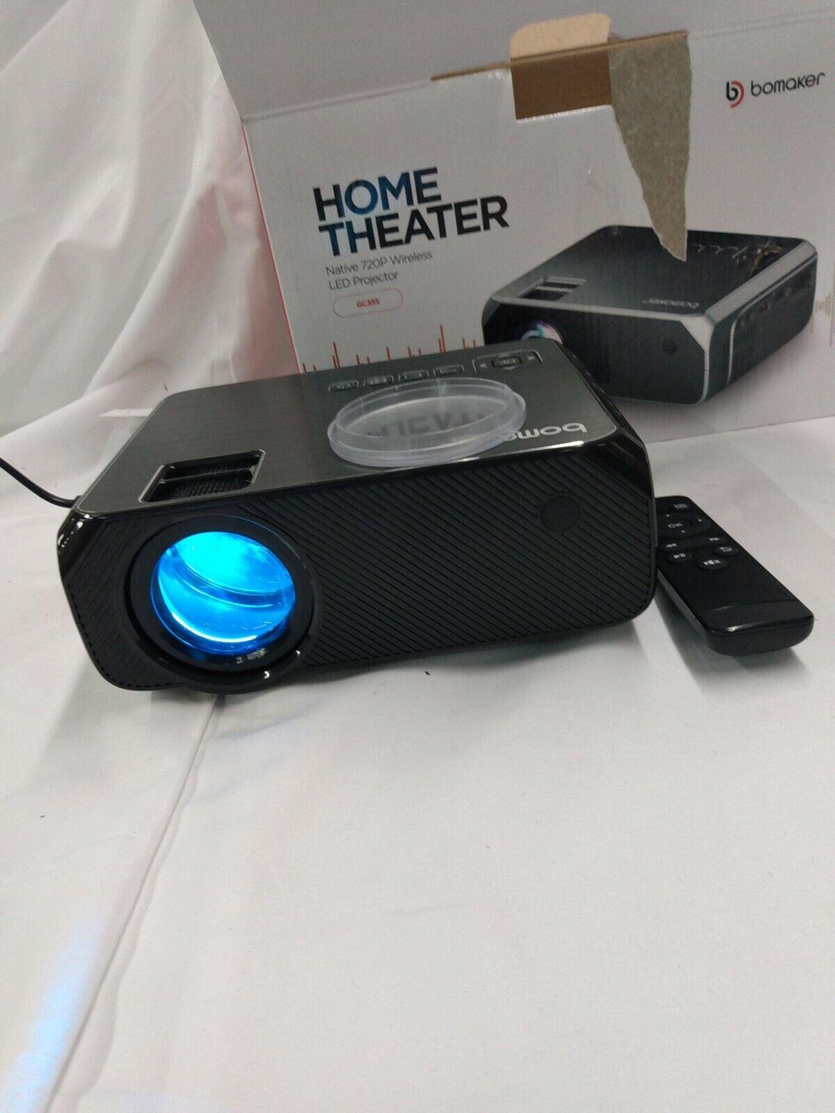 bargaintreellcfp LS-8 Bomaker GC355, Wi-Fi Mini Projector(Black) Used