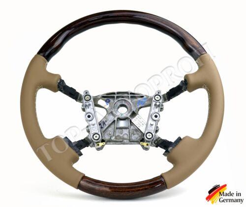 Jaguar XK x100 XJ x300 x308 Cuir Volant STEERING WHEEL Nouveau rapportent