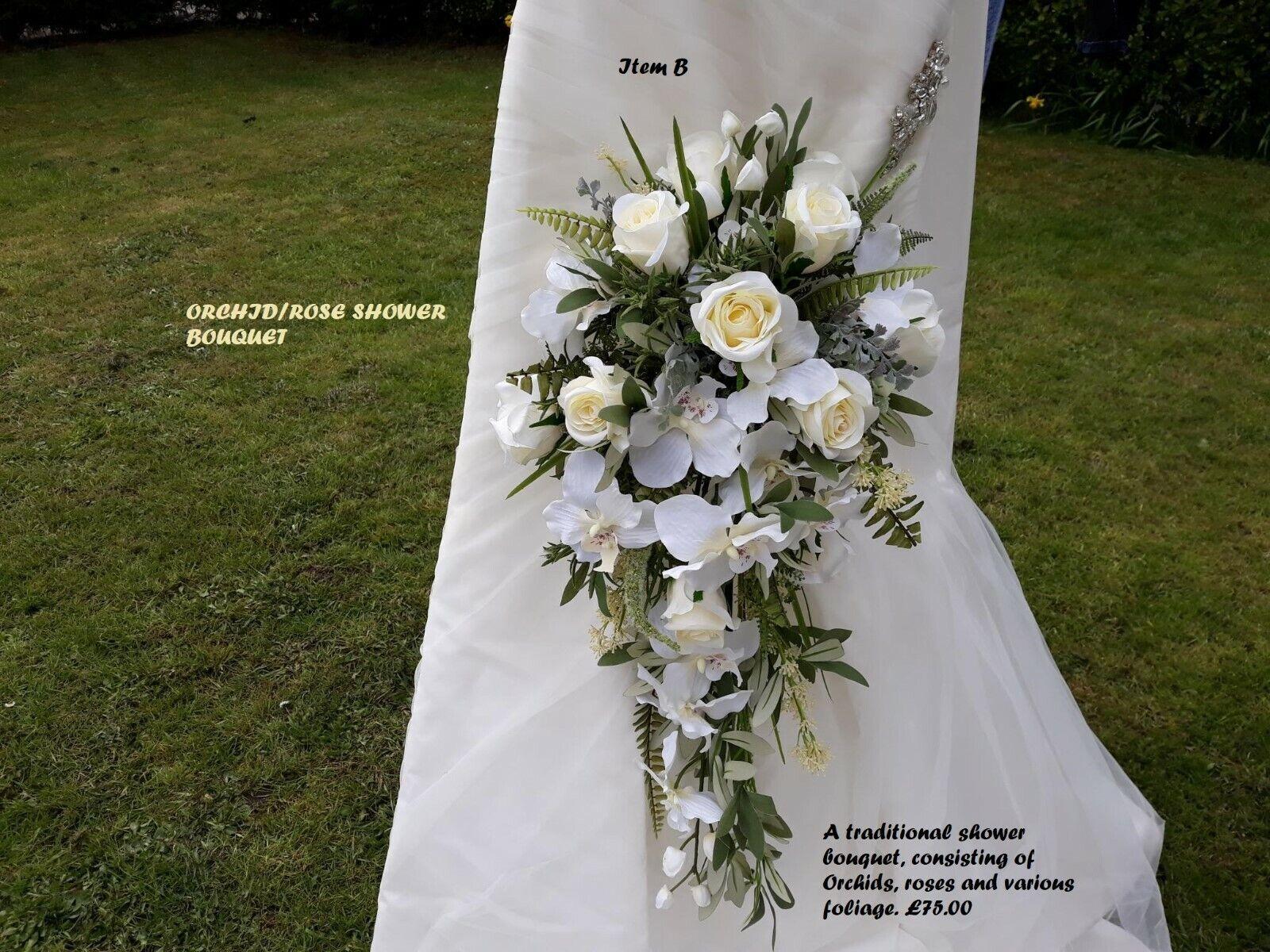 Designer Mariage Fleurs-Haute qualité artificielle