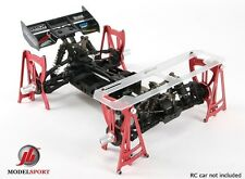 Universal 4Pcs 1/8 RC Buggy Chassis Suspension Setup System Losi HPI Nitro Elec