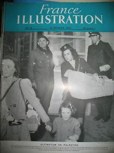 72-PALESTINE-ULTIMATUM-ILE-DE-GRASSHOLM-FRANCE-ILLUSTRATION-1947