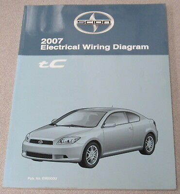 2007 toyota scion tc electrical wiring diagram service manual | ebay  ebay