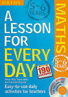 Lesson for Every Day: Maths Ages 5-6: 5-6 years by Steve Mills, Hilary Koll (Mixed media product, 2010)