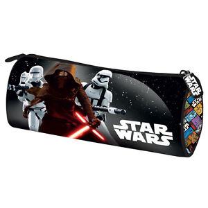 Star-Wars-Episode-7-Pencil-Case-Pouch-Tube-School-BB-8-Droid-R2D2-BB8-Kylo-Ren
