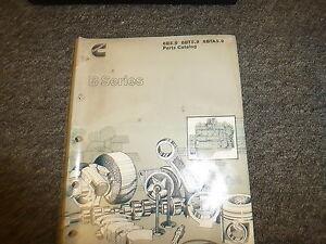 cummins 6b5 9 6bt5 9 6bta5 9 b series engine parts catalog manual rh ebay com Cummins 6BT 5.9 Diesel 6BT Cummins Engine