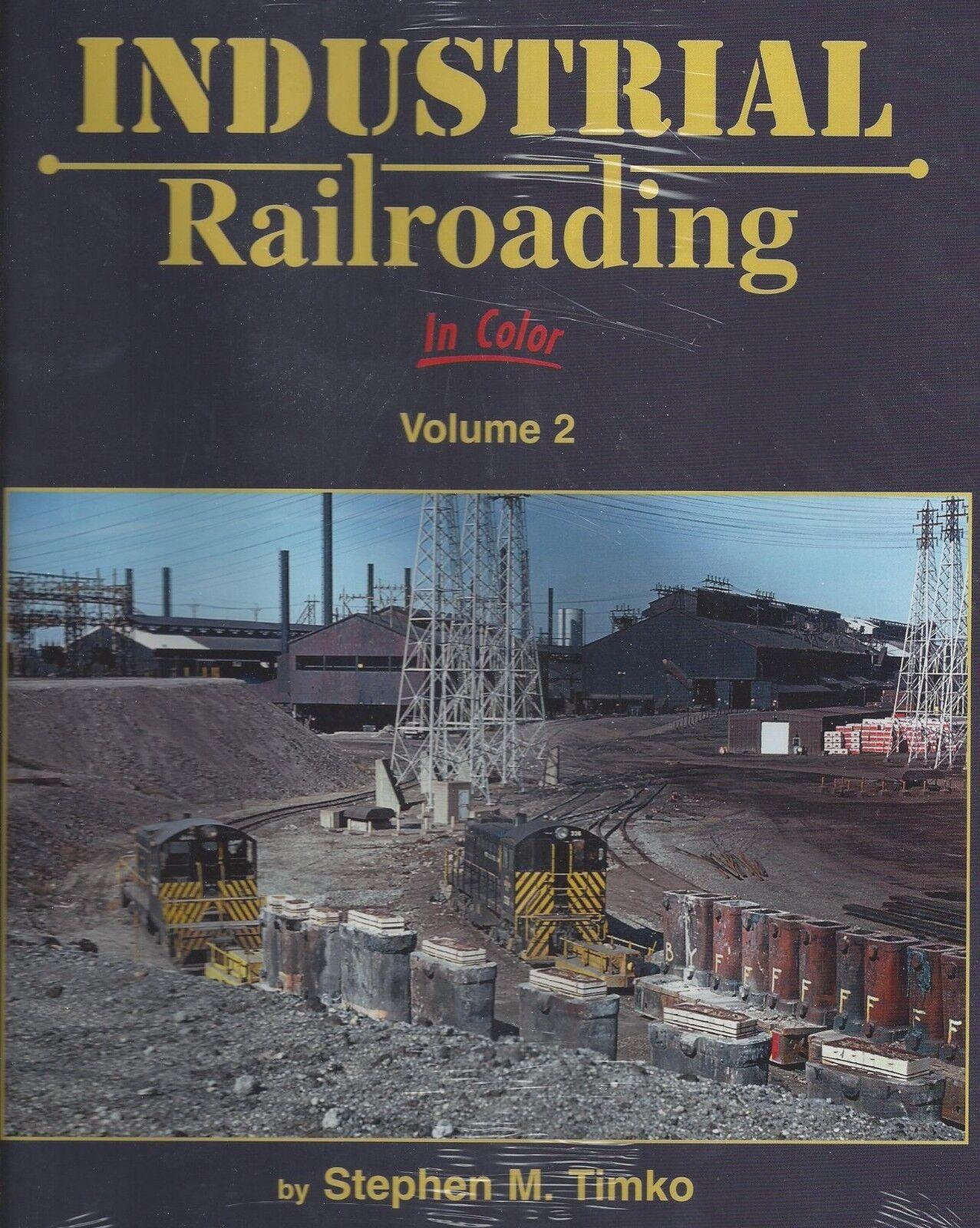 Industriale Libro Usato Railroading in Colore  GP7s,F7s,Mu ' ed Alco Switchers &