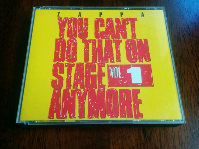 Frank Zappa - You Can't Do That on Stage Anymore, Vol. 1 (Live Recording, 1998)