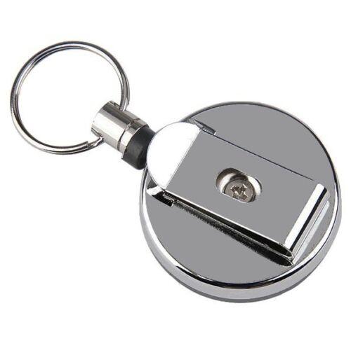 Schlüsselaufroller Schüsselring Metall Aufroller Rollmatik ★Kellner★Service★